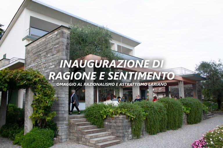 Inaugurazione di Ragione e Sentimento - omaggio al razionalismo e astrattismo lariano